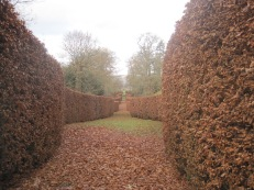 But the curves of the beech hedges were my favourites