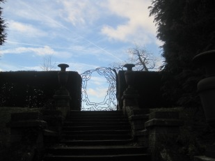 While I rather liked this romantic-looking gate
