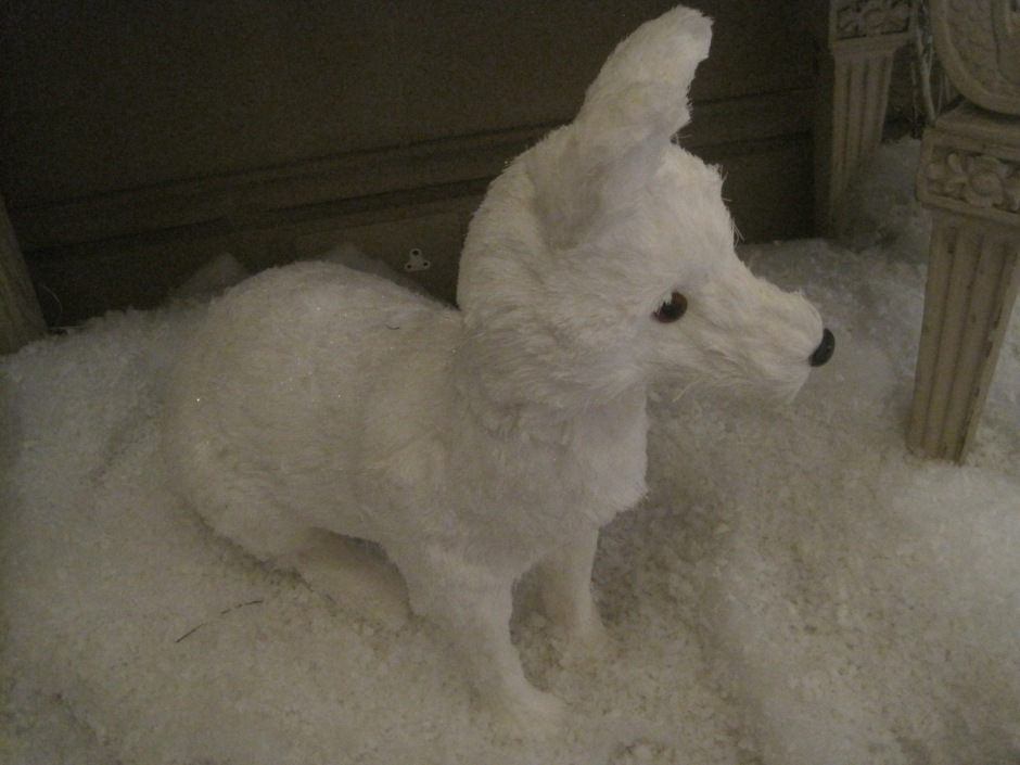 Like this cute snow fox