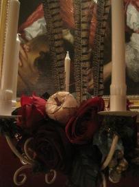 The candelabra so stylish!