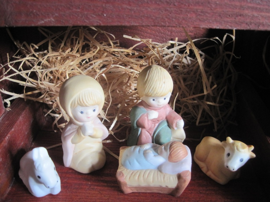 Unto us a child is born, king of all creation.