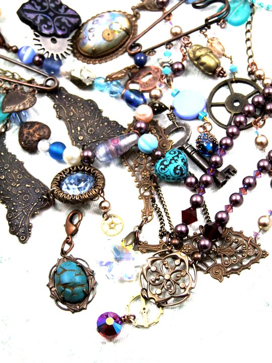 Some of the sparkly things Jema collects