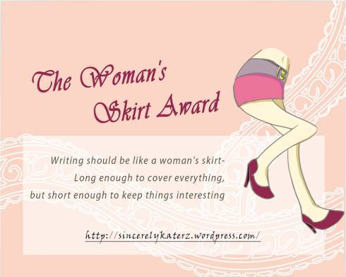 Women's skirt award
