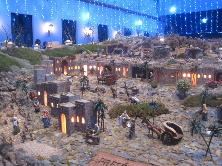 With Nativity scenes like this