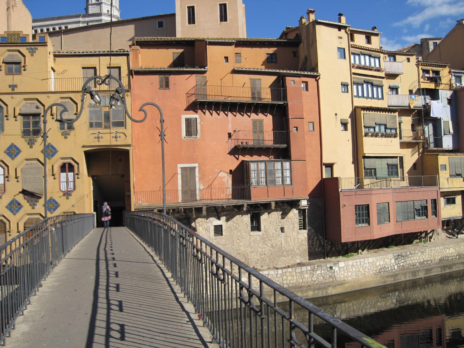 One of Girona's many bridges