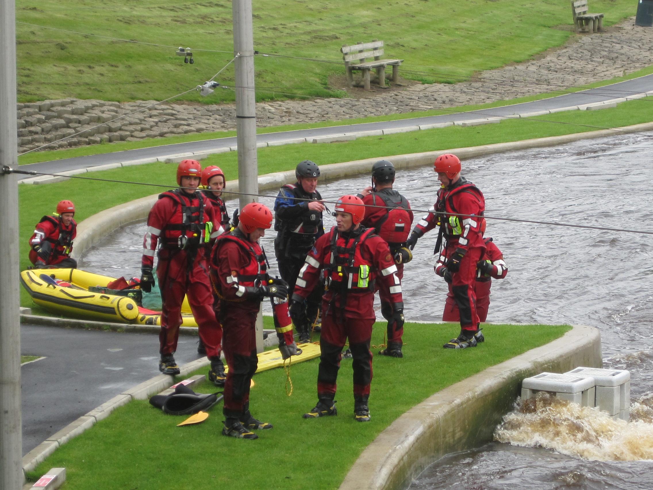 But sometimes the Fire Brigade provide a little sport