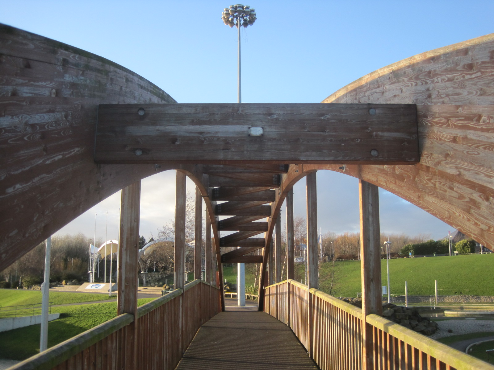 A completely different bridge