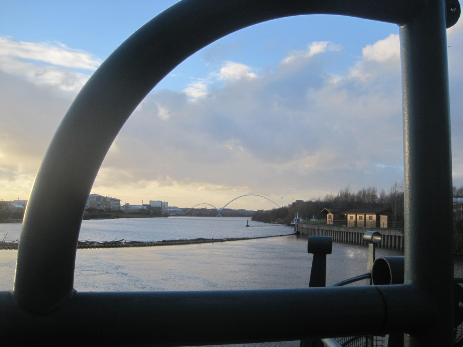 The Infiniity Bridge, of course
