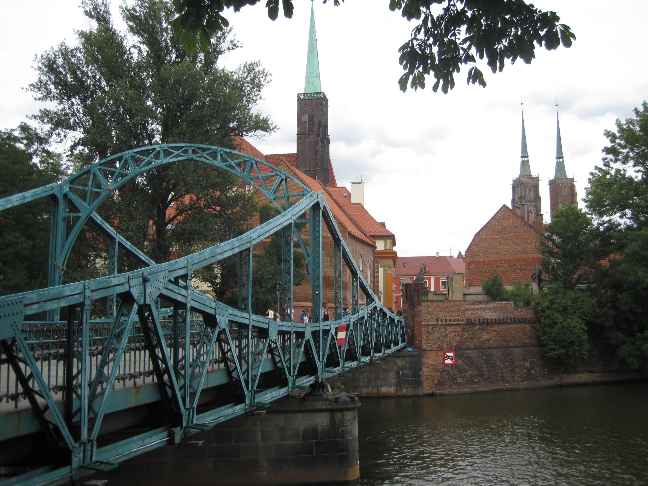 Most Tumski in Wroclaw, Poland