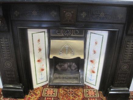 A lovely fireplace