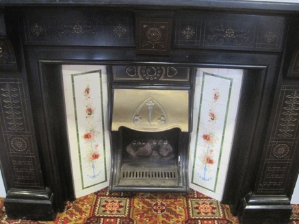 A lovely fireplace