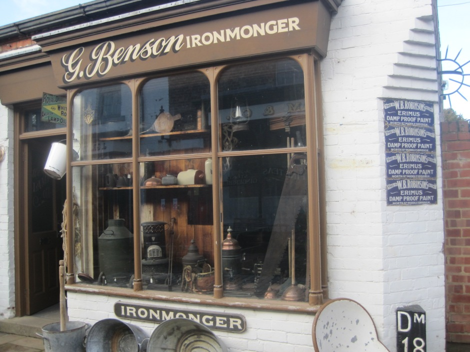 But I did find an ironmonger, for the practical ones among you