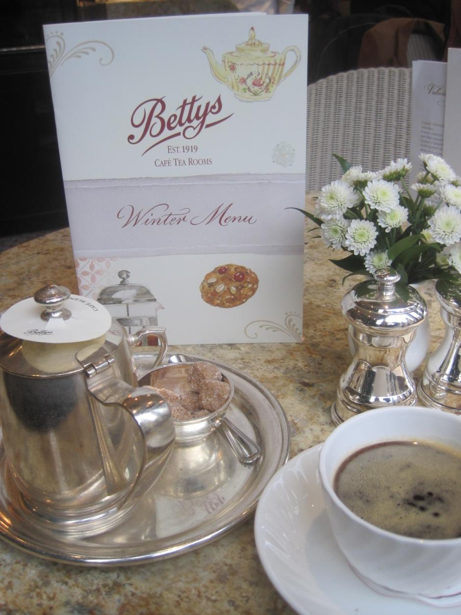 Cafe a la Betty's!