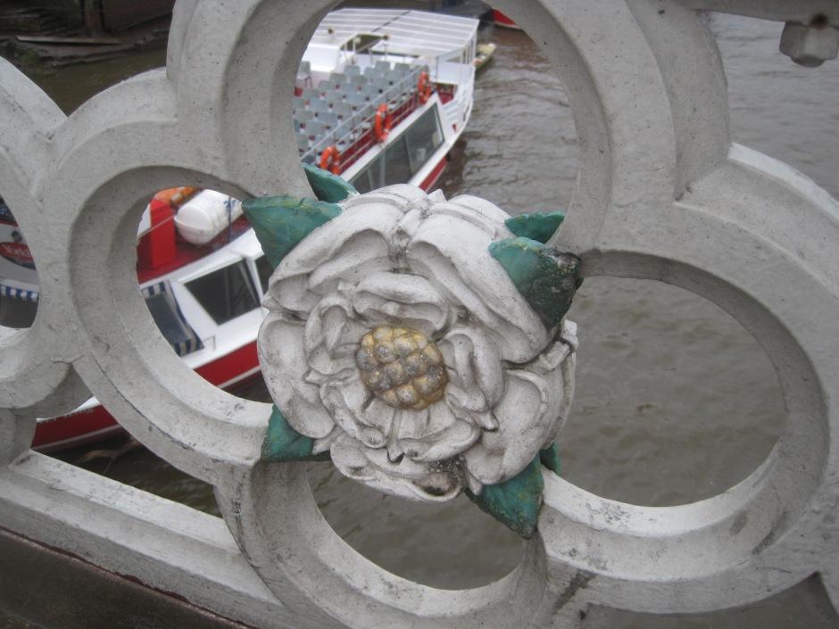 A rose on Lendal Bridge
