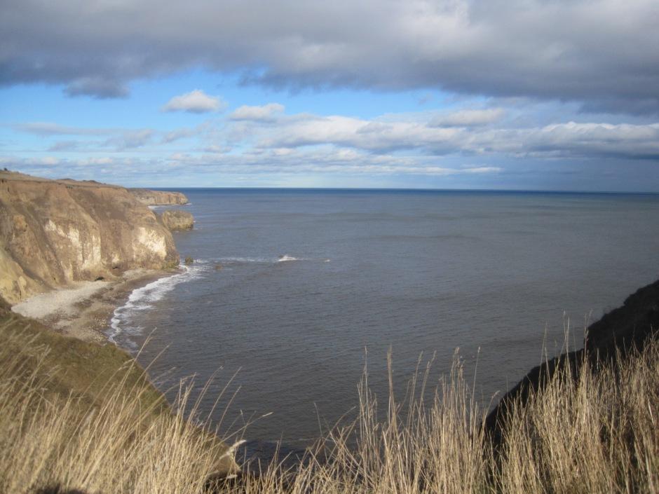 The blue horizon