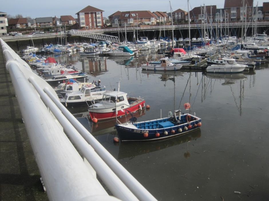 But best to head off round the marina