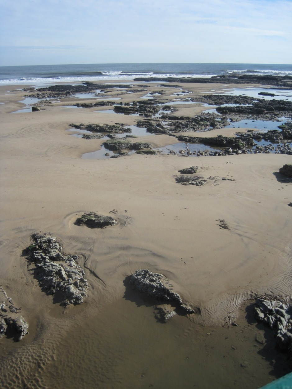 And numerous rock pools