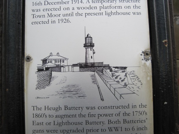 The current lighthouse dates from 1926