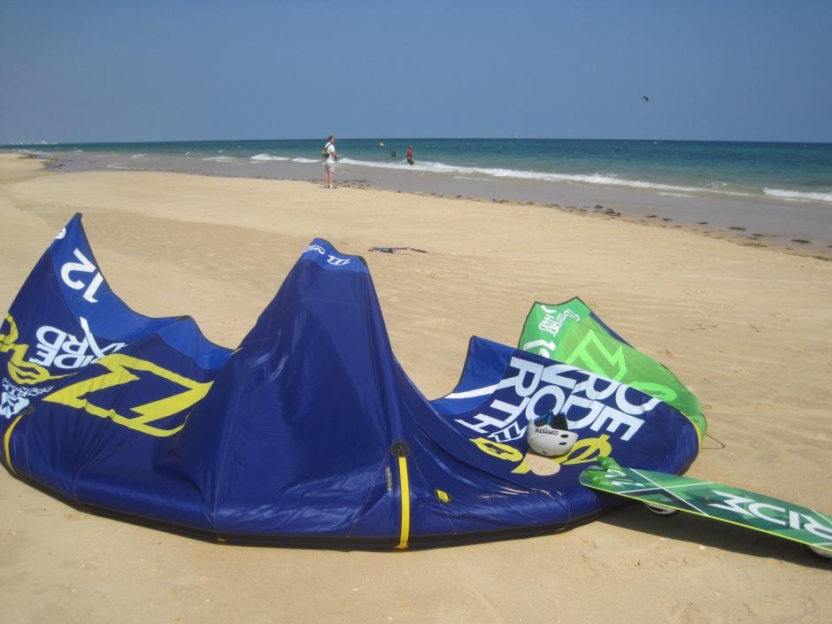 Abandon your kite