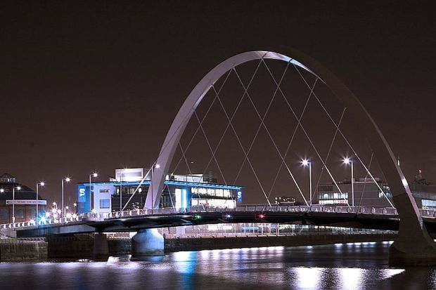 "Clyde Arc, or ""Squinty Bridge"""