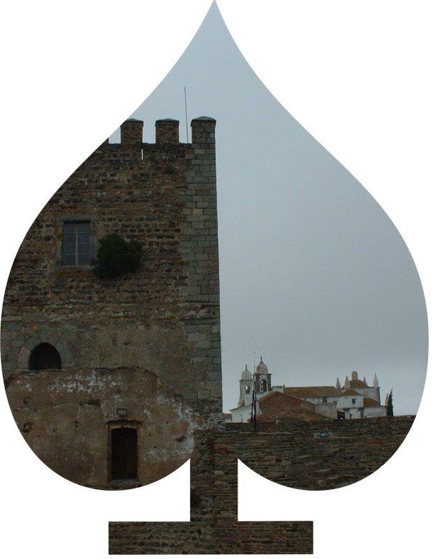 A castle in spades!