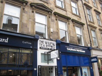 There's a tea room squeezed in on Buchanan St. too