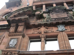 And some on neglected old buildings