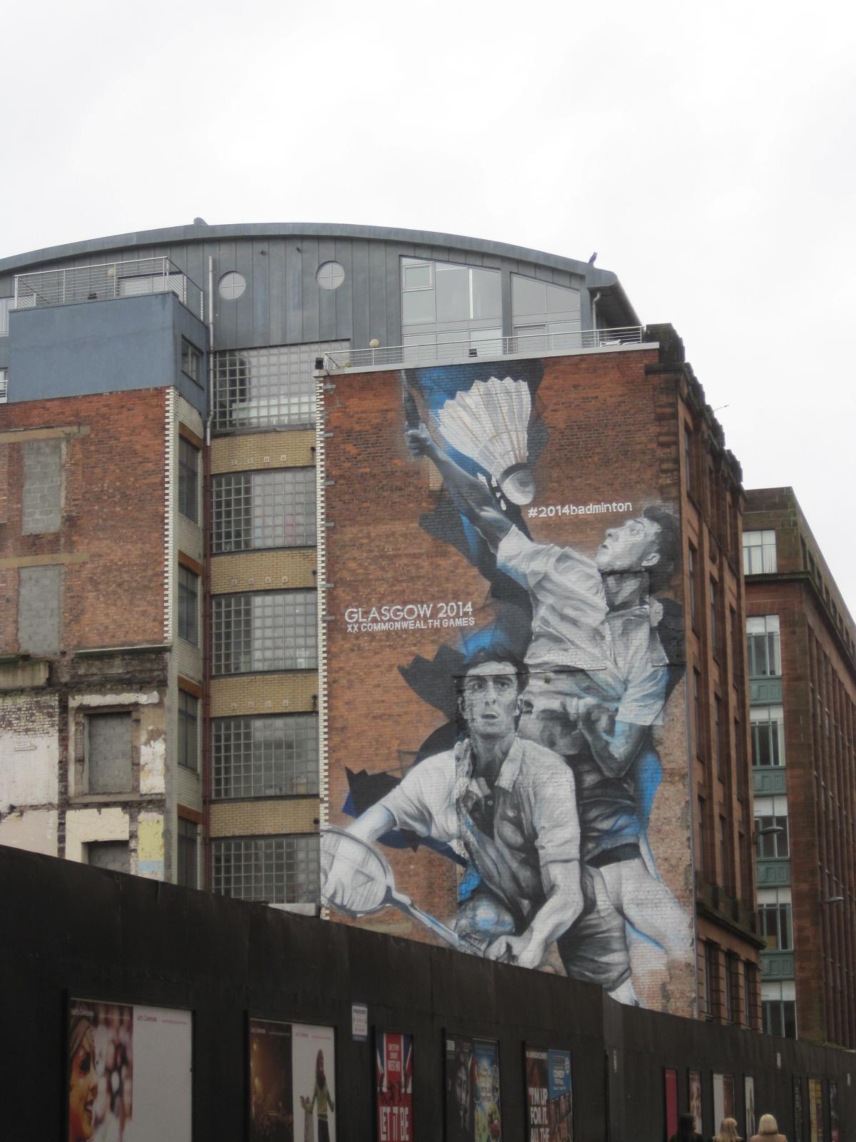 Some with wonderful graffiti