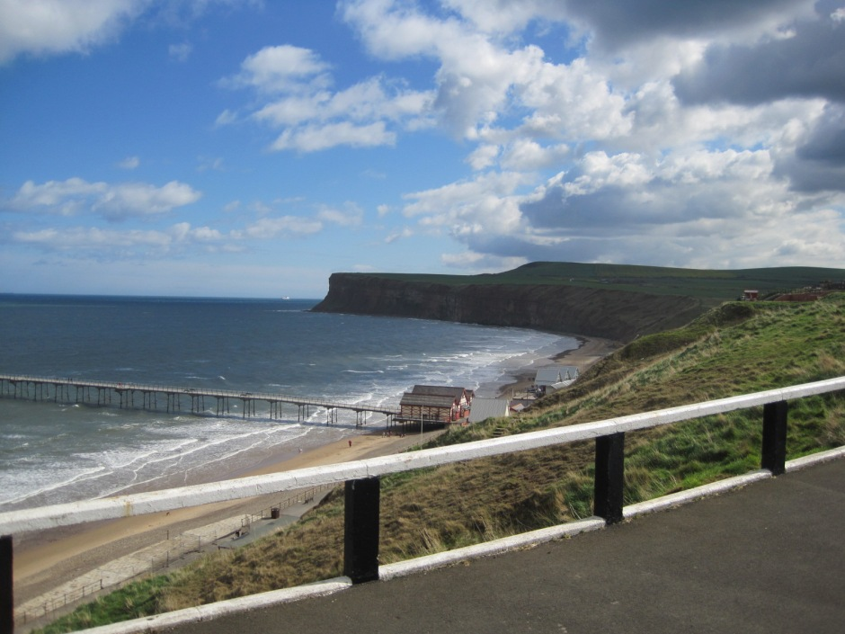 Marine Dri ve follows the cliff tops with beautiful views