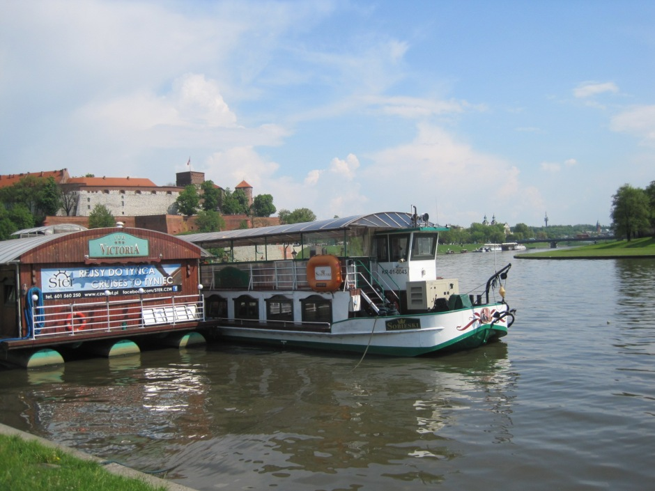 And there are riverboat restaurants to keep the people happy too