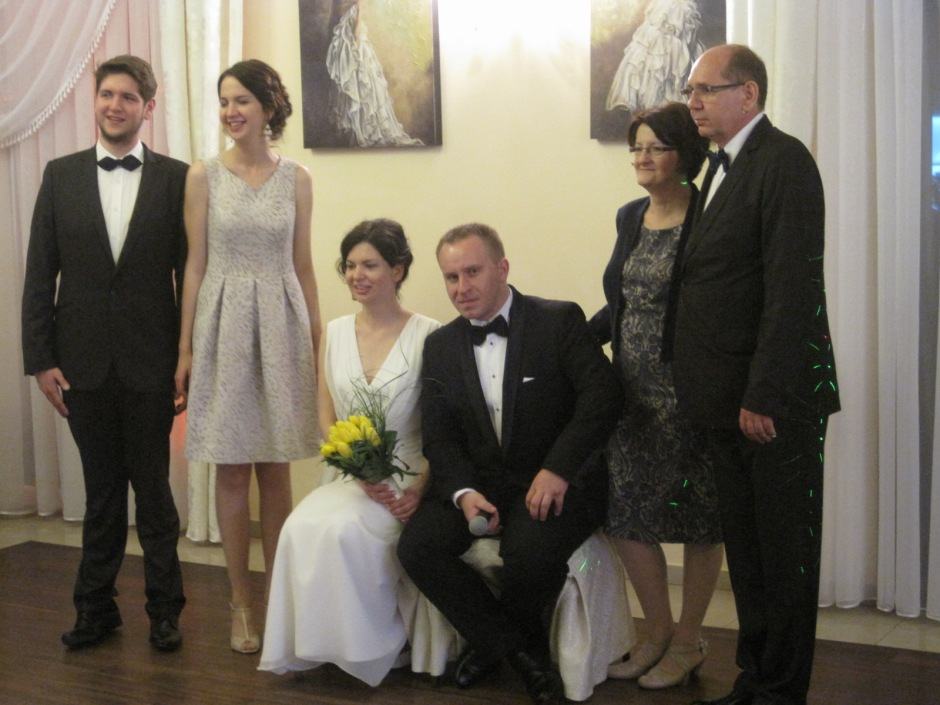 And with sister, Ula and brother, Lukasz