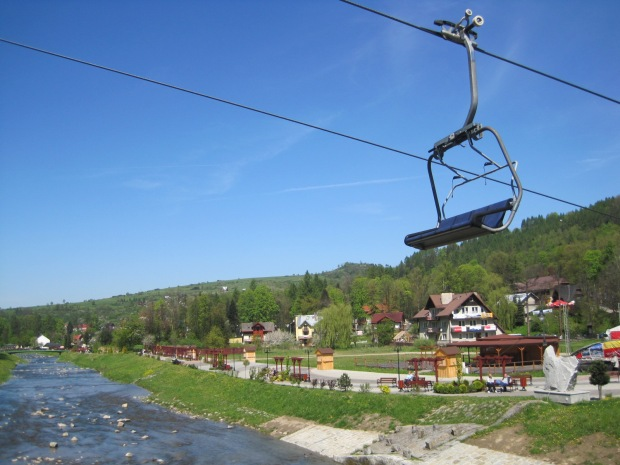 Shall we start at the chair lift?