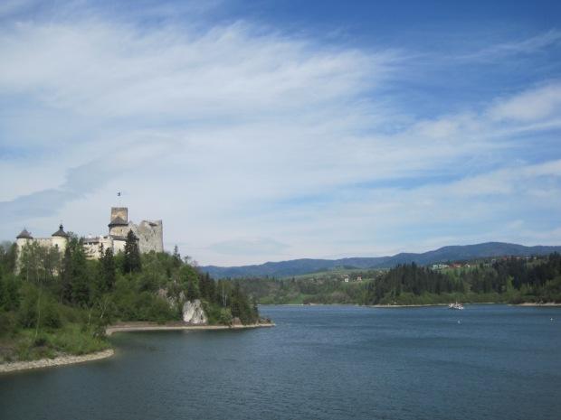 The castle on its lofty promontory