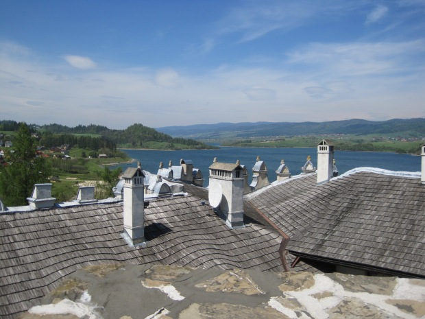 And look down on a forest of chimneys