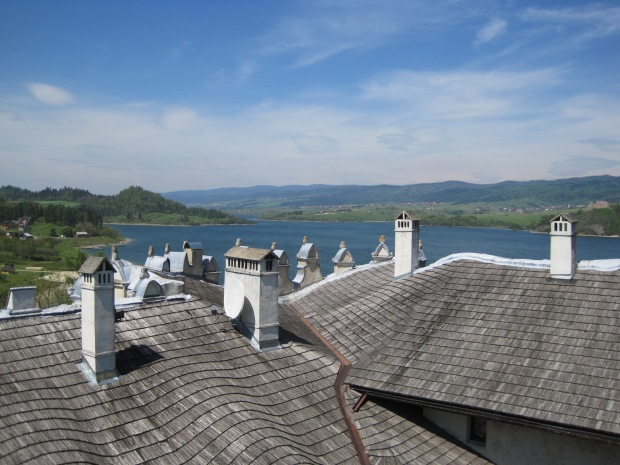 And this is my favourite of the castle rooftops