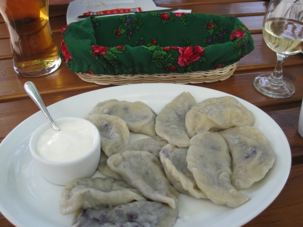 And for the foodies among you, some typical Polish fayre