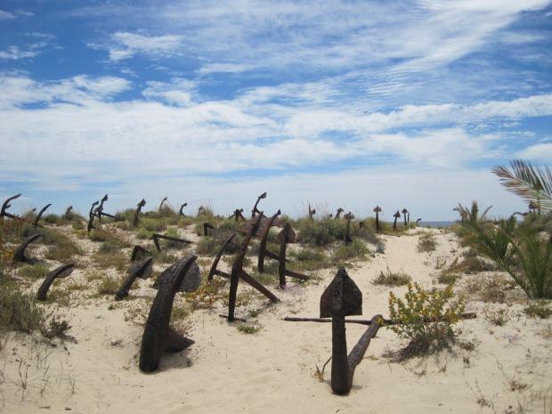Barril beach