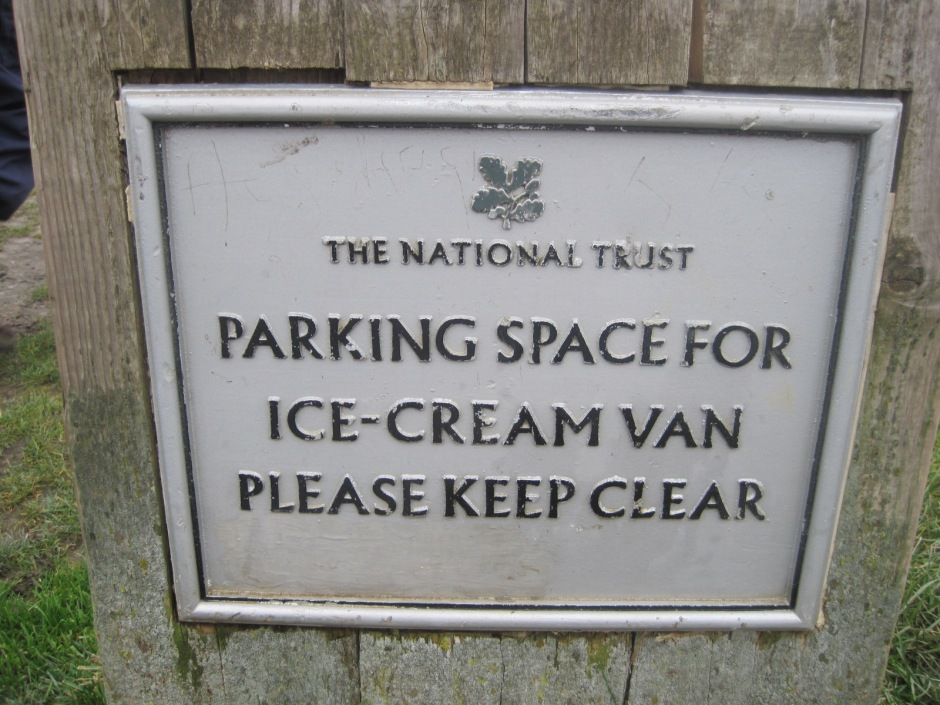 The National Trust has its priorities right in this area!