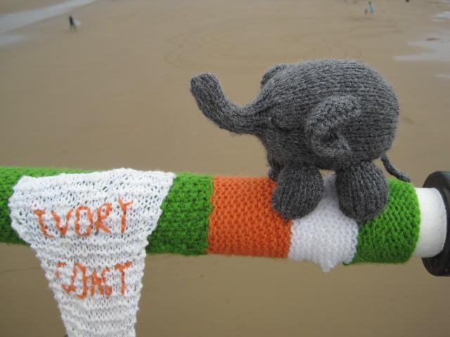 And an elephant!