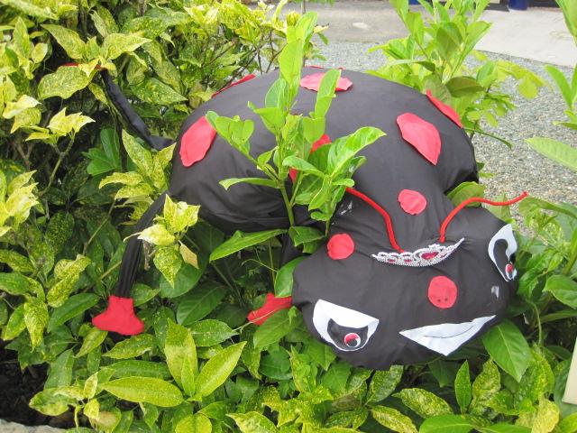 And the ladybird came to the ugly bug ball