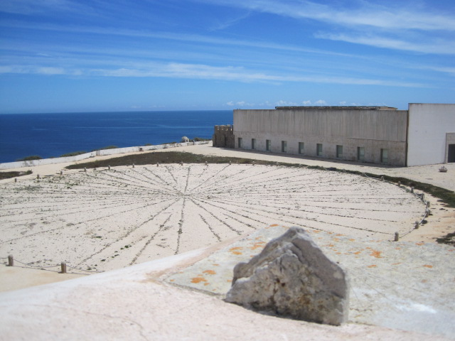 The Wind Compass in Sagres fort