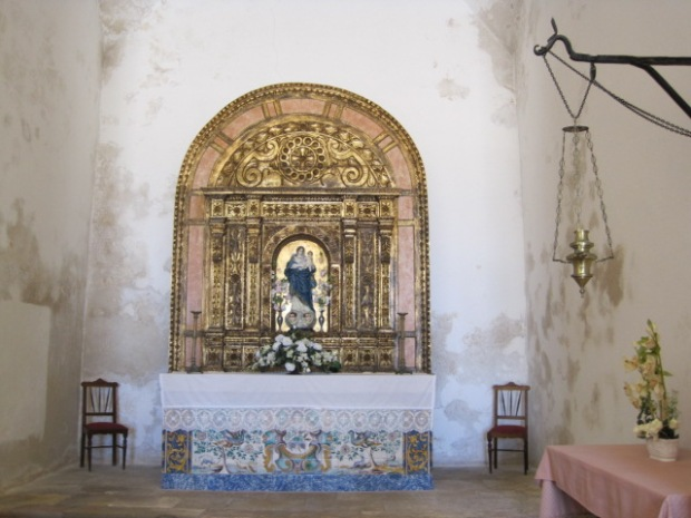 Inside the simple church