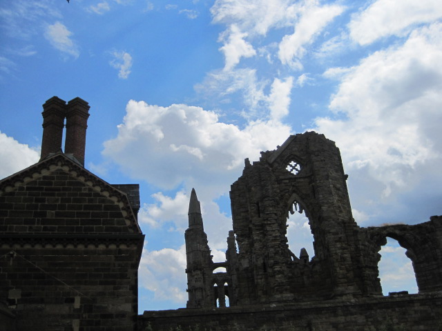 We pass the entrance to the Abbey ruins
