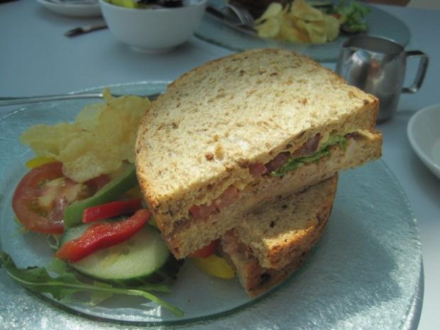 A crab sandwich?