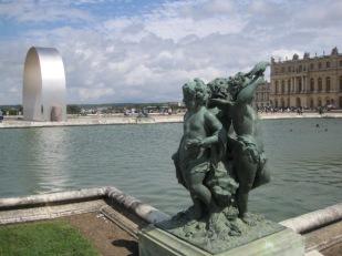 The grandeur of the Water Parterres
