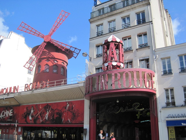 Where else but the Moulin Rouge?