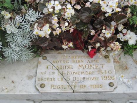 Monet's grave