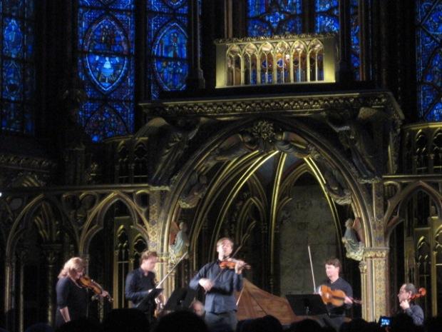 A concert at Saint Chapelle