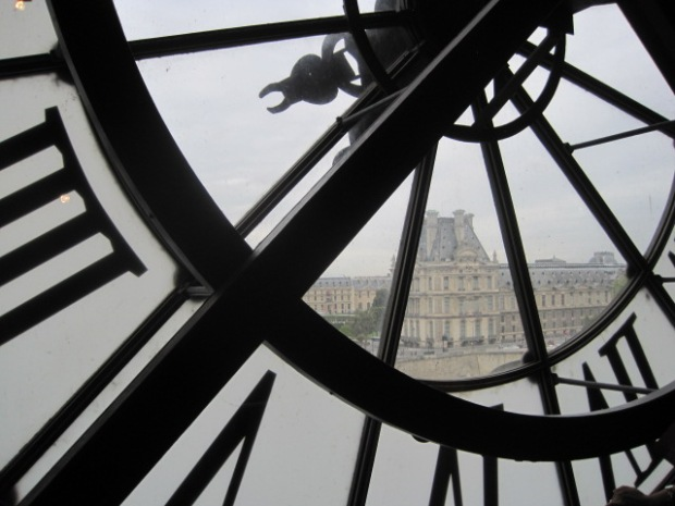 Theview from the cafe in magnificent Musee d'Orsay