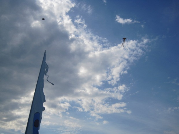 And it was great weather for kites!